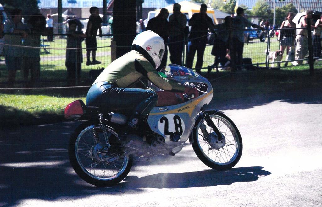 Honda 50cc RC115 Replica in action