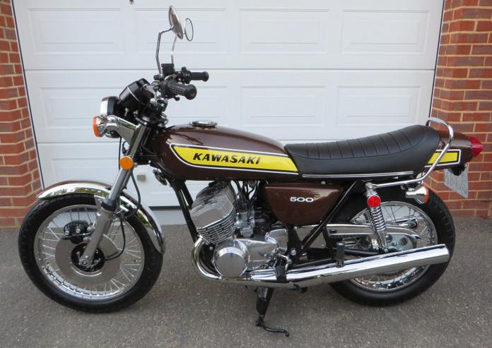 Kawasaki 500 H1-F