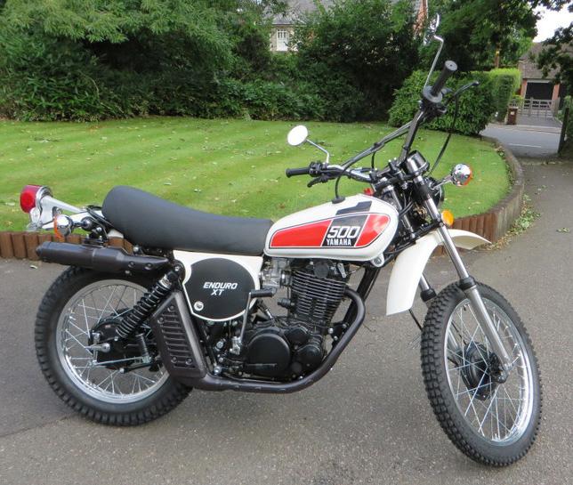 Yamaha XT 500 C